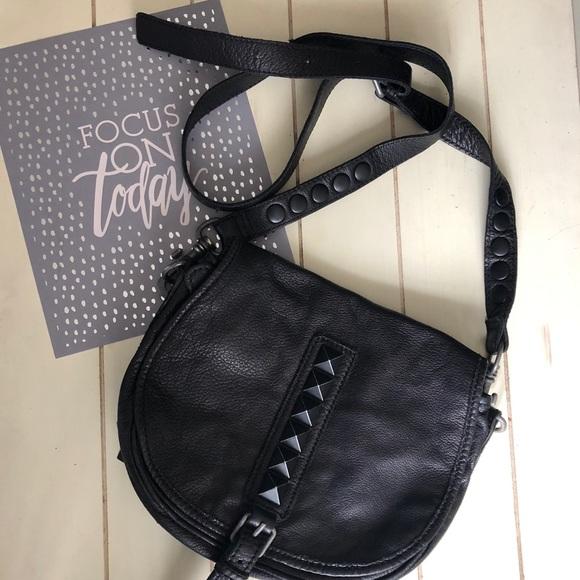 Liebeskind Handbags - Liebeskind Black Stud Crossbody Bag da54bd49284ad